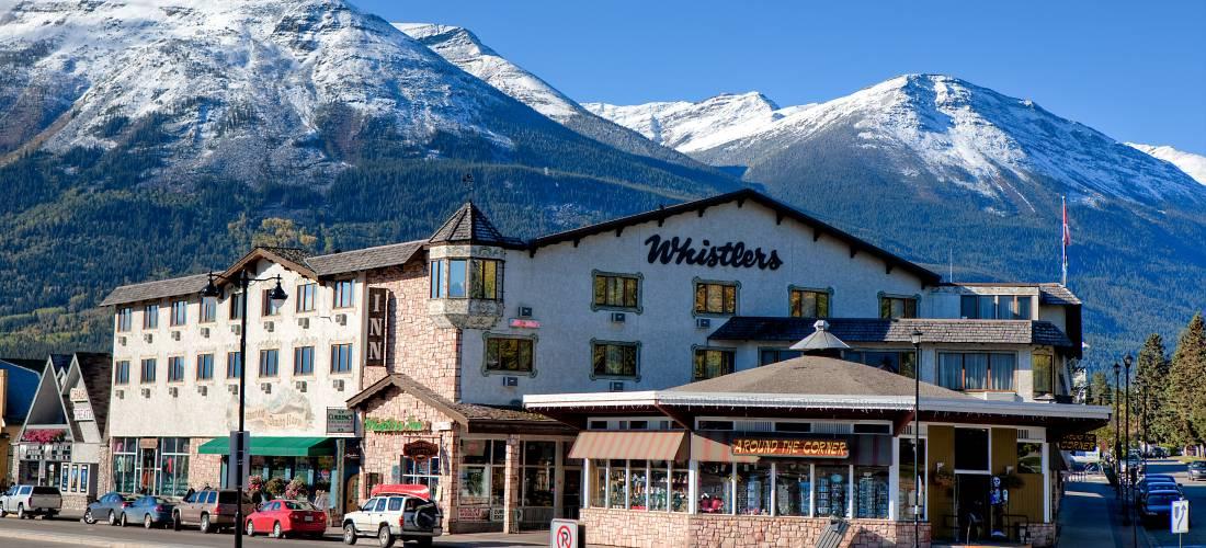Jasper Hotels Whistlers Inn